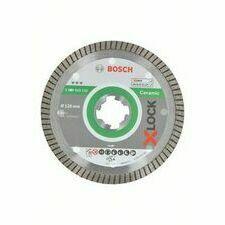 Kotouč řezný diamantový Bosch Best for Ceramic Extraclean Turbo X-LOCK 125×22,23×1,4×7 mm