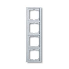 Rámeček čtyřnásobný Future linear, hliníková stříbrná