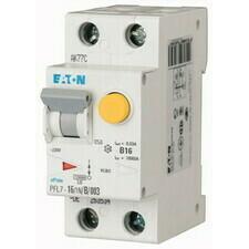 Chránič proudový s jištěním Eaton PFL7-16/1N/B/003 10 kA 2pól 16 A