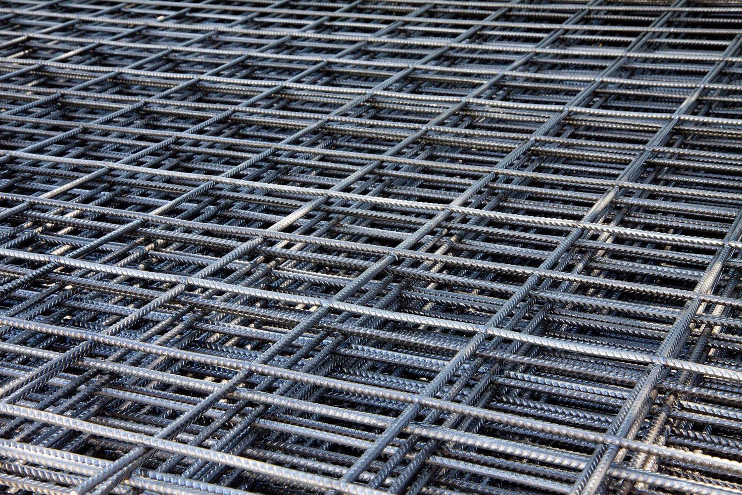 Svařovaná kari síť KA 17 oko 150x150 mm drát 4 mm