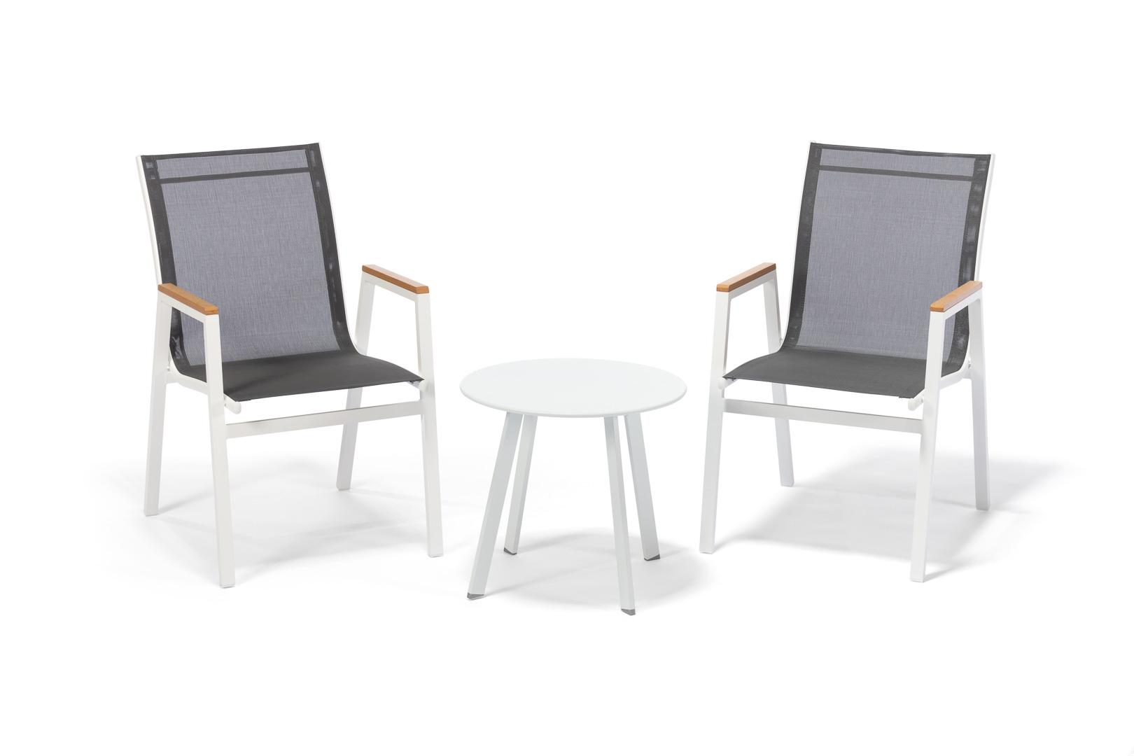 e67544df9 Balkonovka: Nízký stolek bílý + 2x židle MILANO, cena za set