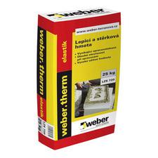 Hmota lepicí a stěrková Webertherm elastik 25 kg