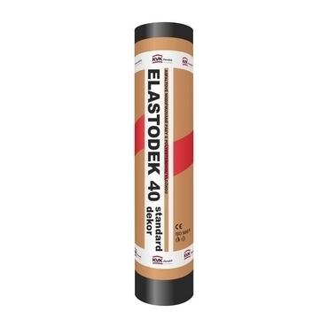 Hydroizolační asfaltový pás ELASTODEK 40 STANDARD DEKOR šedý (role/7,5 m2)