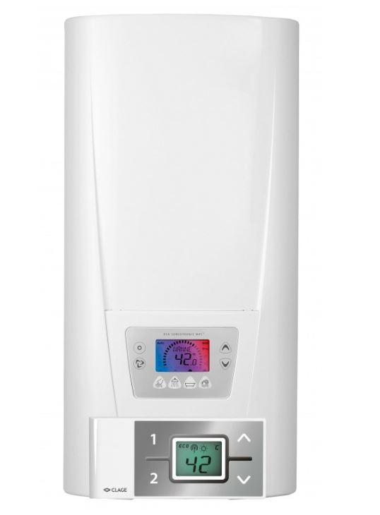 Elektronicky řízený průtokový ohřívač CLAGE DSX SERVOTRONIC MPS 18..27kW/400V