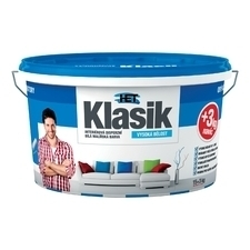 Malba interiérová HET Klasik bílá, 15+3 kg