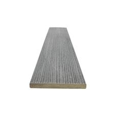 Dřevoplastová plotovka FOREST PLUS, odstín inox 120x11×3 600 mm