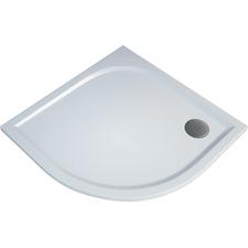 Čtvrtkruhová sprchová vanička TRACY 900×900×30 mm, R550, litý mramor