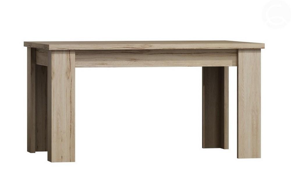 Jídelní stůl 120 rozkládací LAREDO dub sanremo, cena za ks