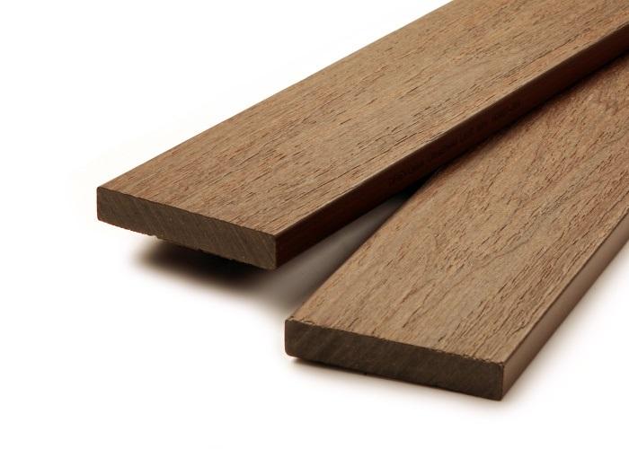 Dřevoplastová plotovka PROFI 15x80 mm (4m) teak
