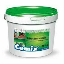 Omítka silikátová Cemix zatíraná 1,5 mm bezpř., 25 kg