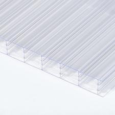 Polykarbonátová dutinková deska MULTICLEAR 10 STRONG 6W čirá s UV ochranou 2100×6000mm
