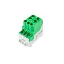 Rozváděčový blok UVB zelený
