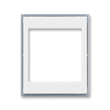 Kryt přístroje osvětlení s LED Element bílá / ledová šedá