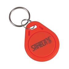 Sada RFID žetonů Sanela SLZA 51R, 50 ks/ bal., barva červená
