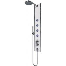 Panel sprchový nástěnný Teiko BOSS ECO P2 bílé sklo