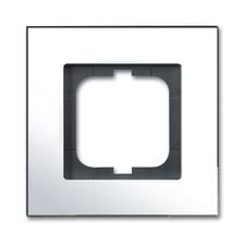 Rámeček jednonásobný Solo carat chromová mosaz