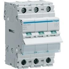 Vypínač Hager SBN363, 3pól, 63 A, 400 V