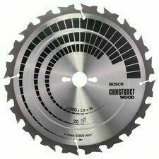 Kotouč pilový Bosch Construct Wood 300×30×2,8 mm 20 z.
