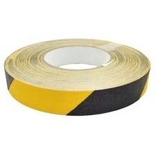 Páska protiskluzová 25 mm/18,3 m žluto-černá