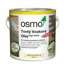 Olej tvrdý voskový Osmo Original 3062 bezbarvý 2,5 l