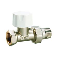 """Ventil termostatický LUXOR 1/2"""" přímý"""