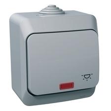 Ovládač tlačítkový řazení 1/0So Schneider Cedar, kompletní