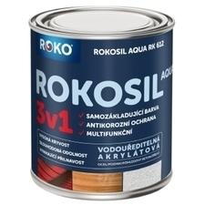 Barva samozákladující Rokosil Aqua 3v1 RK 612 antr. šedá, 0,6 l