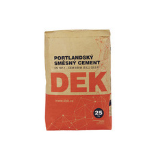 Portlandský směsný cement DEK 32,5R  25 kg