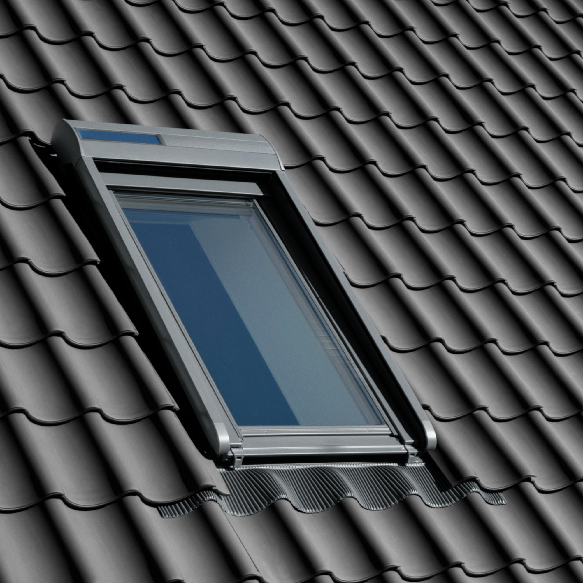 Velux roleta SSL 0000 306/MK06, předokenní, solární pohon, tmavě šedý hliník