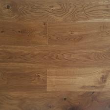 Podlaha dřevěná EkoWood Rustikal kouřový, 185×1 820×13,5 mm