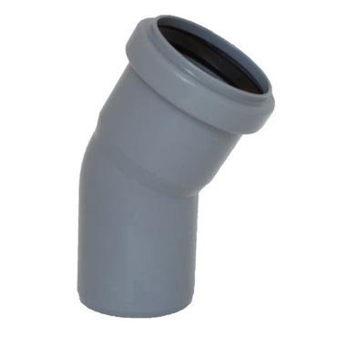 Koleno s hrdlem HTB pro odpadní potrubí, DN 50, úhel 30°