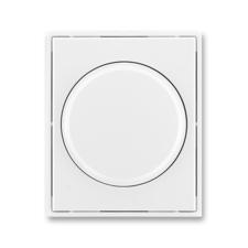 Kryt stmívače s otočným ovladačem Time/Element bílá