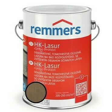 Lazura ochranná Remmers HK Lasur Grey protect písková, 2,5 l