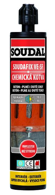 Chemická kotva Soudafix VE-SF 280 ml