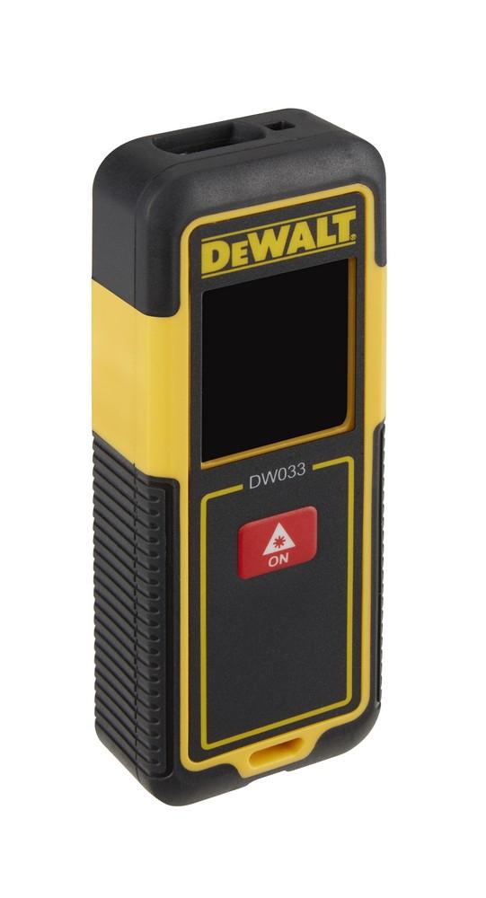Laserový měřič vzdálenosti DeWALT, 30 m