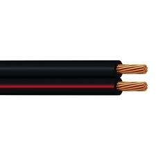 Kabel SMYp/V03VH-H, CYH/2x1,5, černá-rudá
