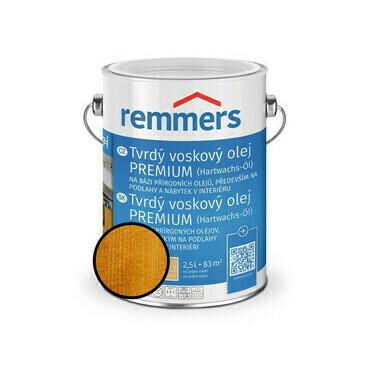 Olej tvrdý voskový Remmers Premium 1353 kiefer 2,5 l