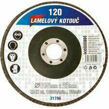 Lamelový kotouč brusný 115/z80