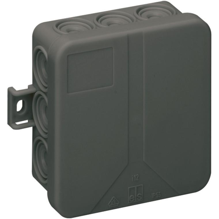 Krabice spojovací i12-L černá