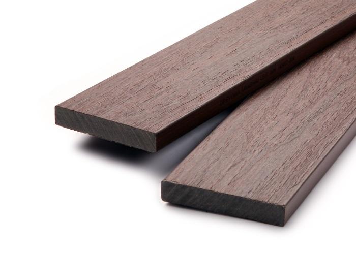 Dřevoplastová plotovka PROFI 15x80 mm (4m) walnut