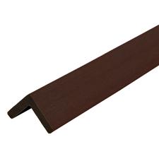 Lišta L dřevoplastová DŘEVOplus PROFI walnut 40×40×2000 mm