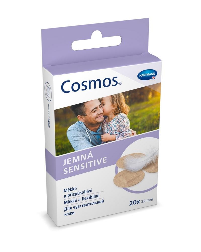 Náplast jemná COSMOS kulatá 20 ks, cena za ks