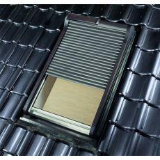 Roleta ROTO ZRO-SF 5/7 (54 x 78) předokenní lamelová solární pohon