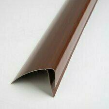 F profil ukončovací plastový mahagon 3000 mm