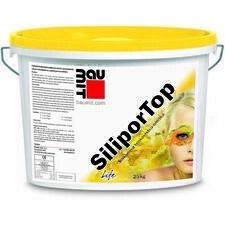 Omítka silikonová Baumit SiliporTop rýhovaná 2 mm 25 kg