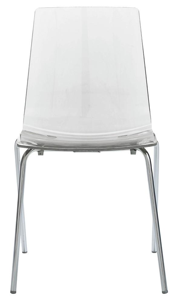 Židle LOLLIPOP polykarbonát transparente
