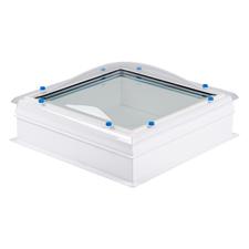 Kompletní sestava světlíku s bezpečnostním sklem DEKLIGHT ACG FIX M15K 60×60 cm
