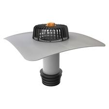 Svislá střešní sanační vpust  TOPWET s integrovaným PVC límcem o průměru 110 mm
