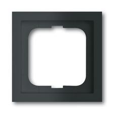 Rámeček jednonásobný Future linear, mechová černá