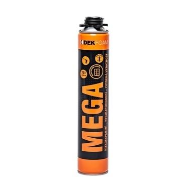 Pistolová pěna DEKFOAM MEGA 870 ml